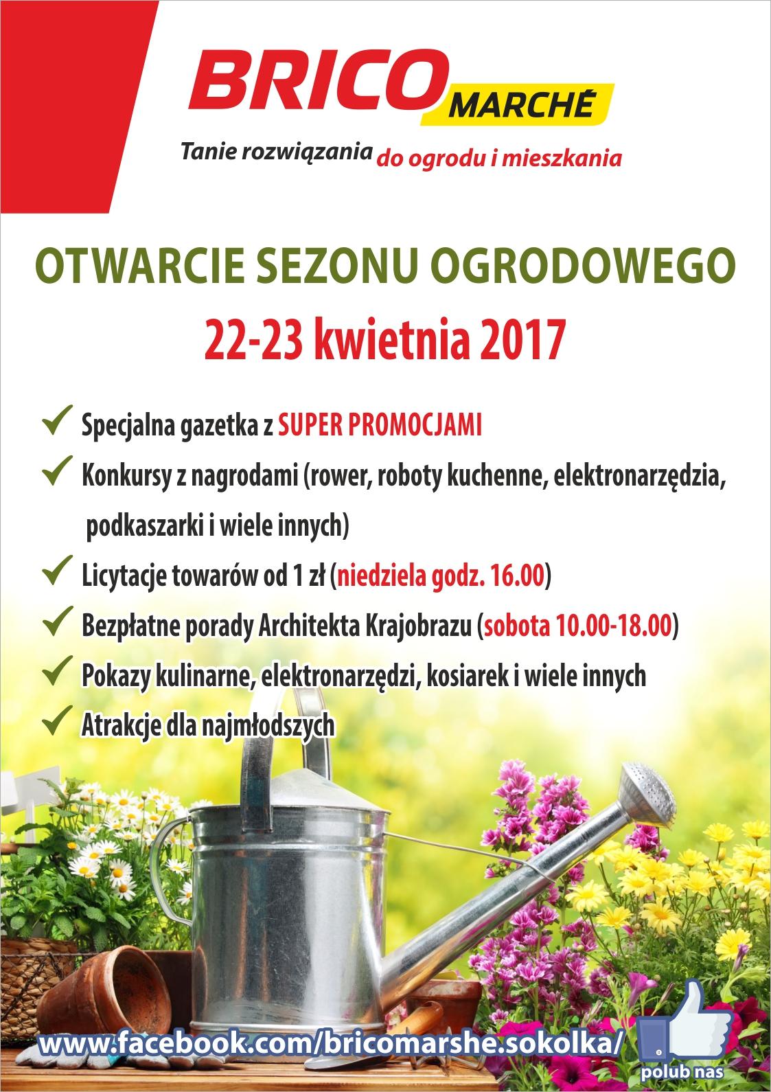Brico Marche w Sokółce otwiera sezon. Będzie się działo!