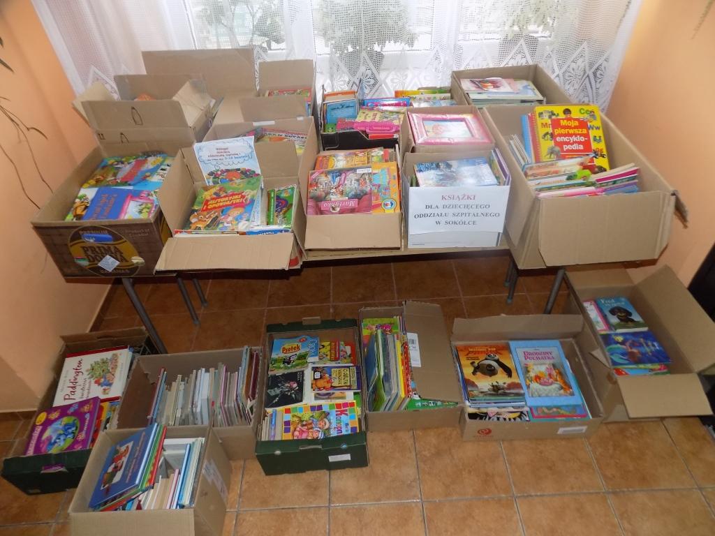 Ponad 1000 książek dla sokólskiego szpitala!!!!