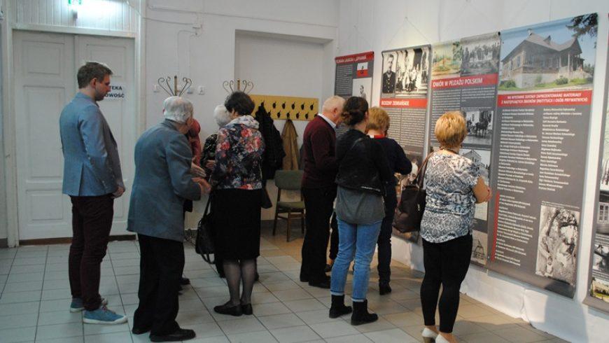 Wystawa Oddziału IPN w Białymstoku w M-GCKiS w Choroszczy