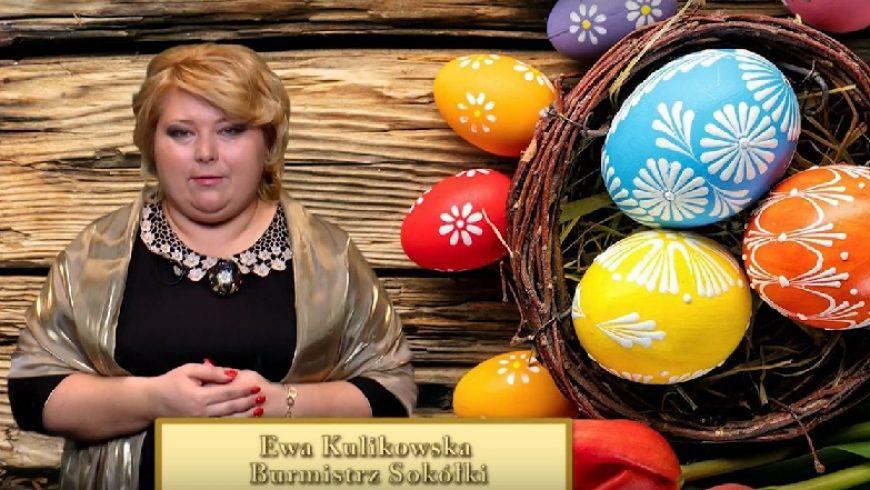 Życzenia Wielkanocne Burmistrz Sokółki ( VIDEO )
