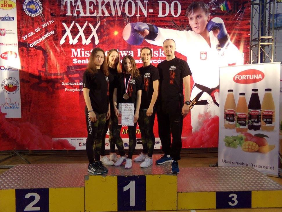 Zakończyły się XXX Mistrzostwa Polski Seniorów Taekwon-do