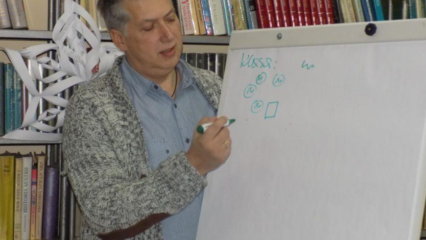 Pedagog Artur Brzeziński ponownie zawita do Biblioteki w Sokółce