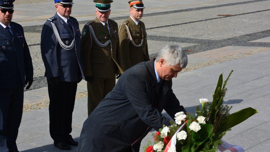 Wojewoda podlaski uczcił pamięć Marszałka