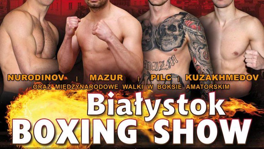 Gala Białystok Boxing Show NA ŻYWO w TTR!