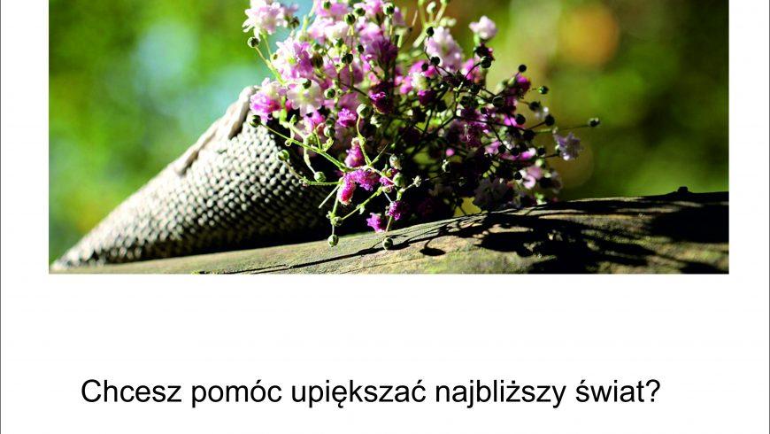 W Choroszczy razem sadzimy kwiaty!