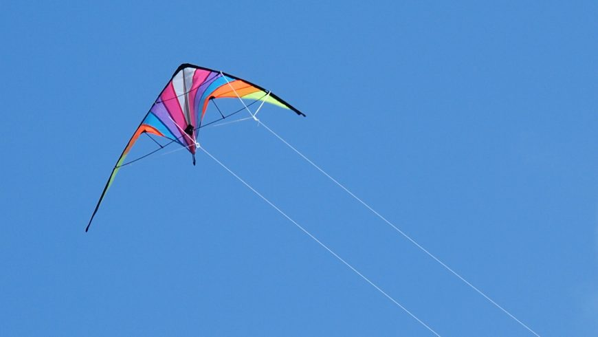 Dmuchawce, latawce, wiatr – czyli świetna zabawa w Choroszczy