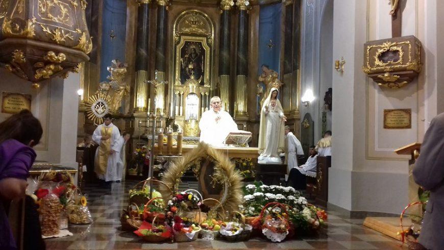 Święto Dziękczynienia w Sokółce