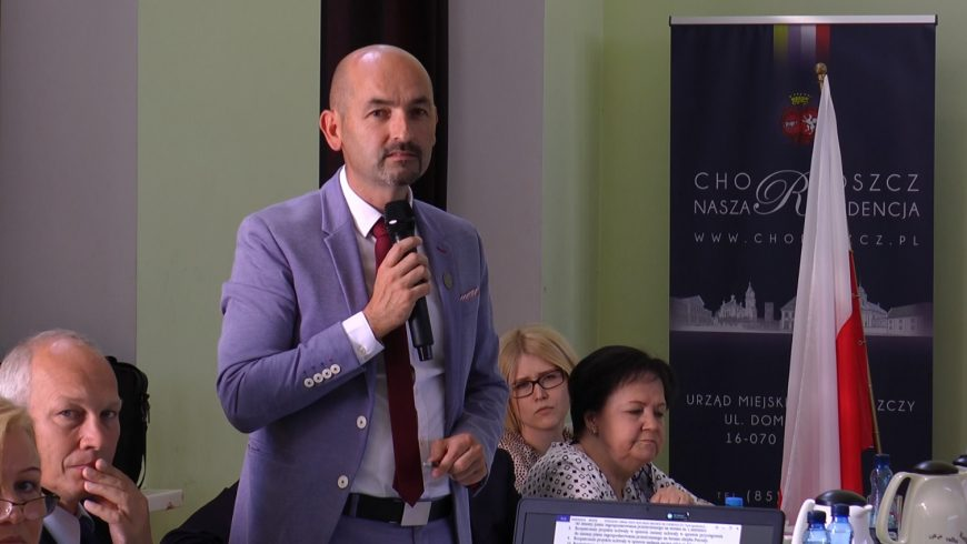 XXXII Sesja Rady Miejskiej w Choroszczy NA ŻYWO w TTR!