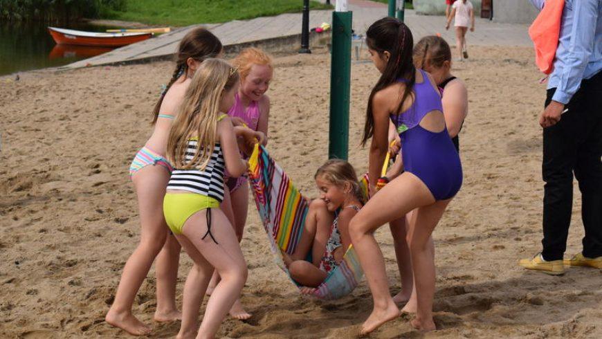 Finał Grand Prix w siatkówce plażowej dziewcząt o Puchar Burmistrza Sokółki