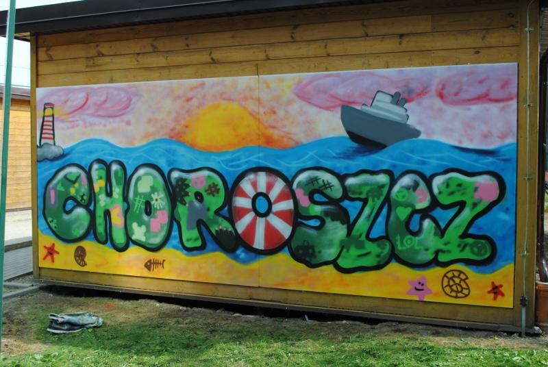 Nowy mural w Choroszczy!