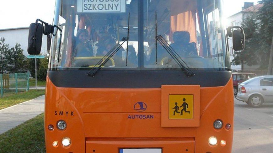 Dowóz dzieci do szkół w gminie Choroszcz od 4 września br.