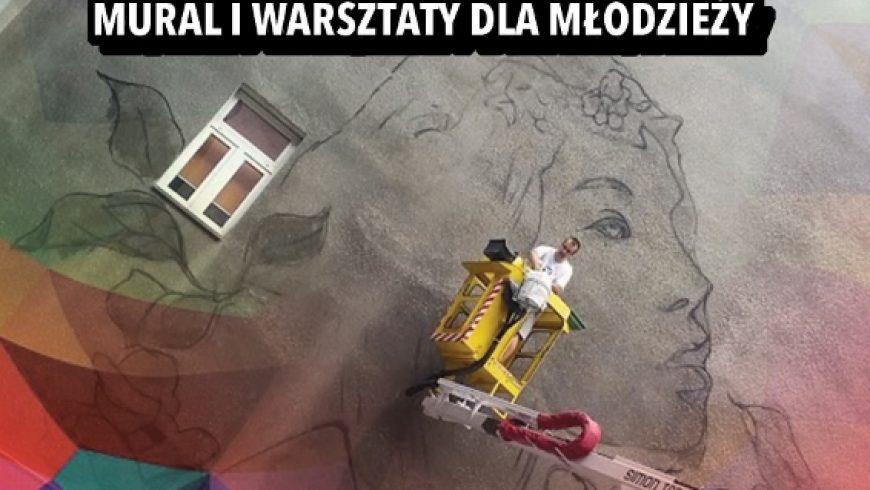Mural na Orliku w Choroszczy