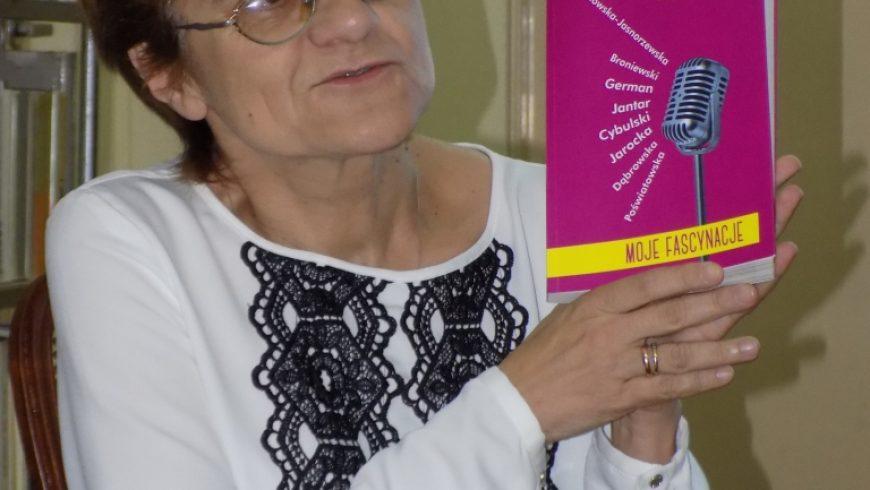 Mariola Pryzwan odwiedziła Bibliotekę w Sokółce
