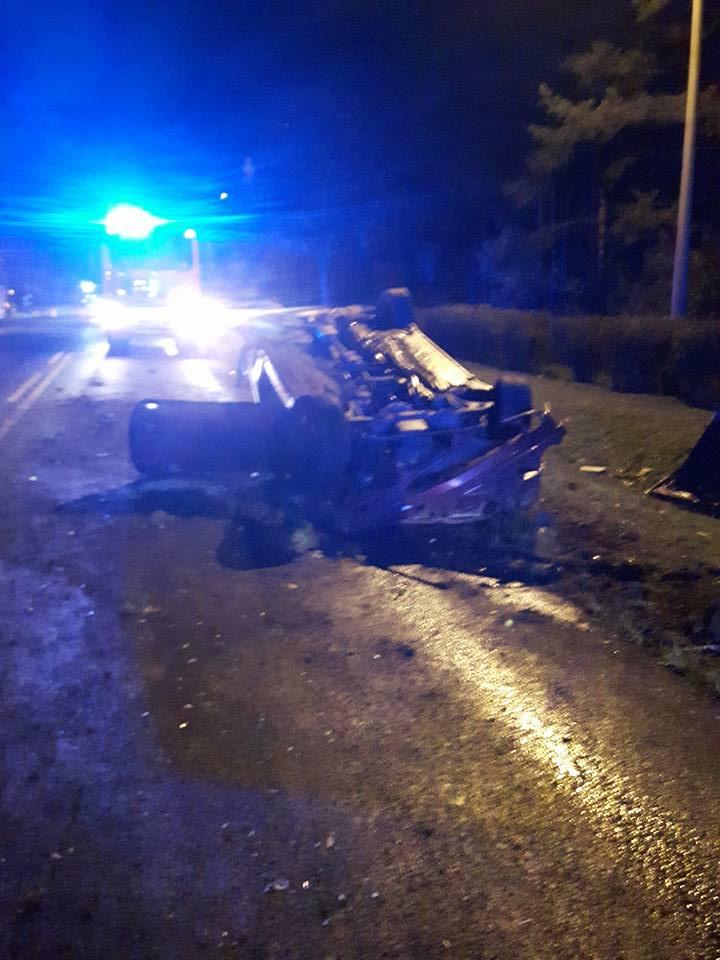 Wypadek w Wasilkowie