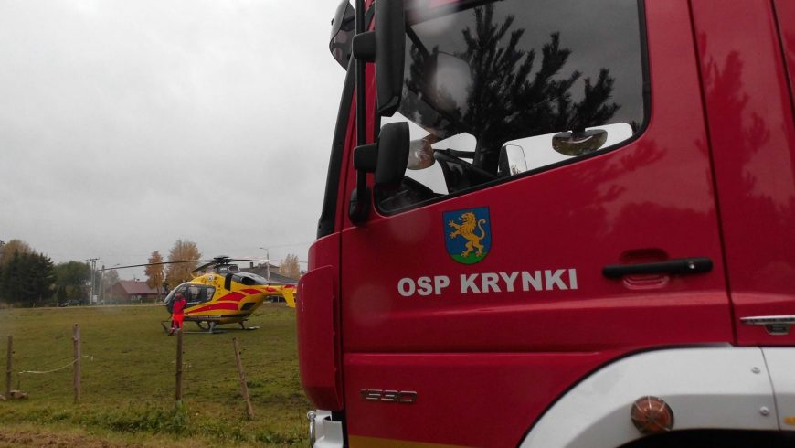 Działania pomocowe OSP Krynki