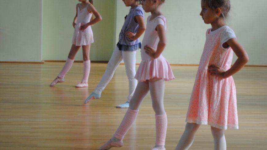 Warsztaty baletowe w M-GCKiS w Choroszczy