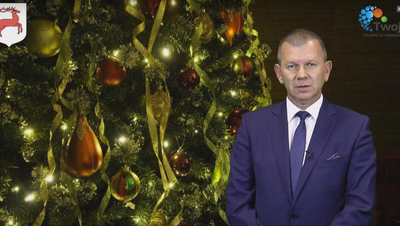 Świąteczne życzenia składa burmistrz Zabłudowa Adam Tomanek