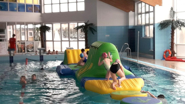 Świetna zabawa(nie tylko dla dzieci) na wodnym torze przeszkód!