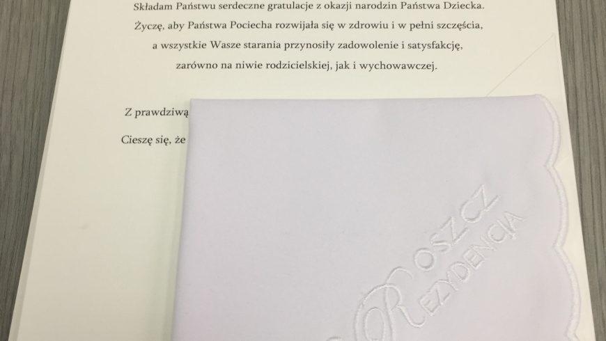 Gmina Choroszcz serdecznie wita swoich małych mieszkańców