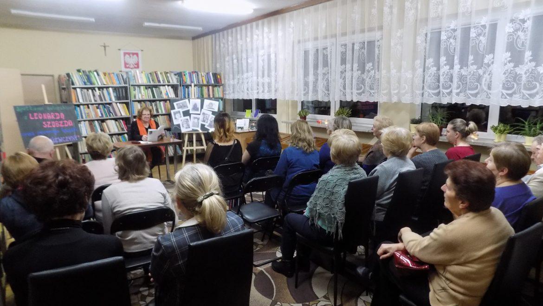 Leonarda Szubzda z wizytą w Bibliotece w Sokółce