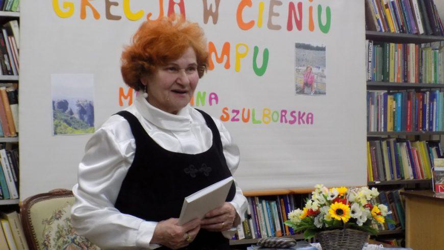 Podróż po Grecji z Marianną Szulborską