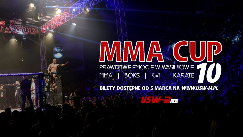 X Gala MMA CUP Wasilków już w kwietniu!!!