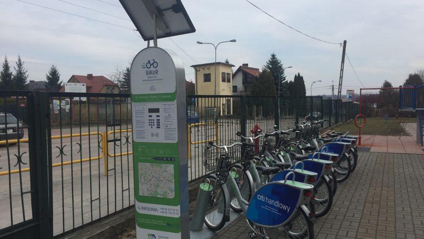 Stacja BiKeRa z Rynku w Choroszczy ma nowe miejsce