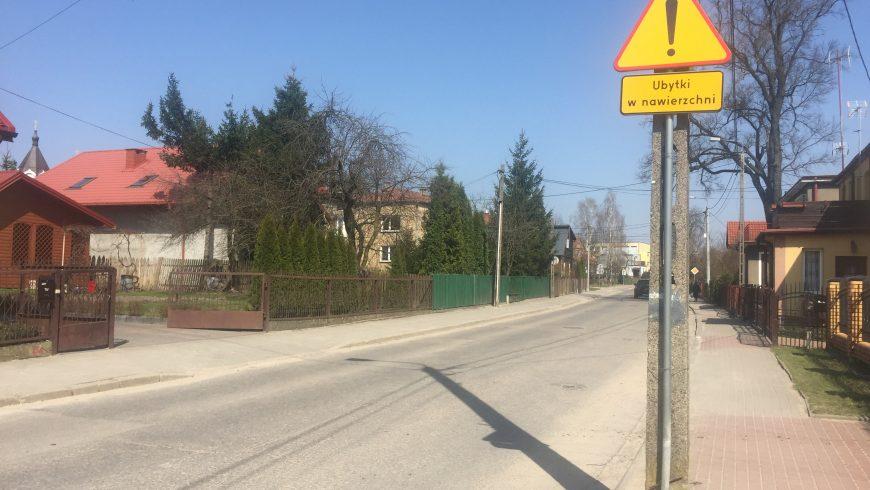 Ulica Mickiewicza w Choroszczy – remont jeszcze w kwietniu