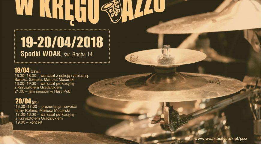 """""""W kręgu jazzu"""" – warsztaty, koncert i jam session"""