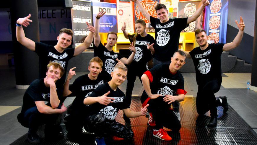 Taniec uliczny w Białymstoku