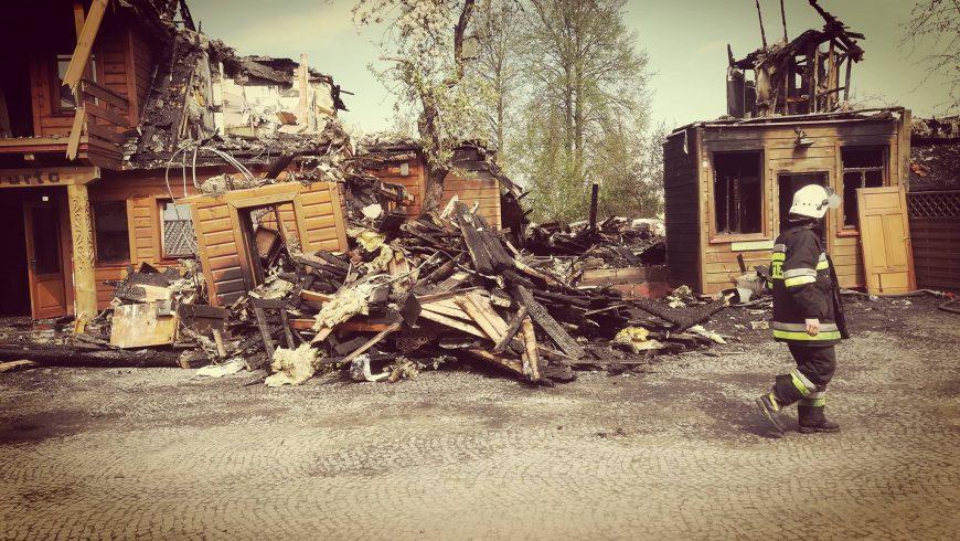Spłonęła Tatarska Jurta w Kruszynianach – potrzebna pomoc!!!