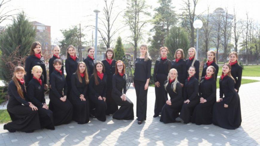 Koncert Żeńskiego Chóru Państwowego Uniwersytetu Kultury z Krasnodaru