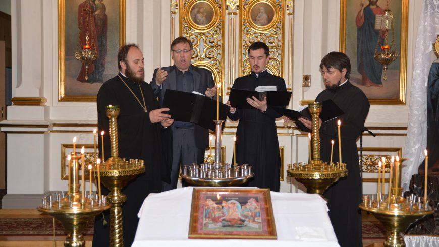 Koncert muzyki cerkiewnej na fotografii