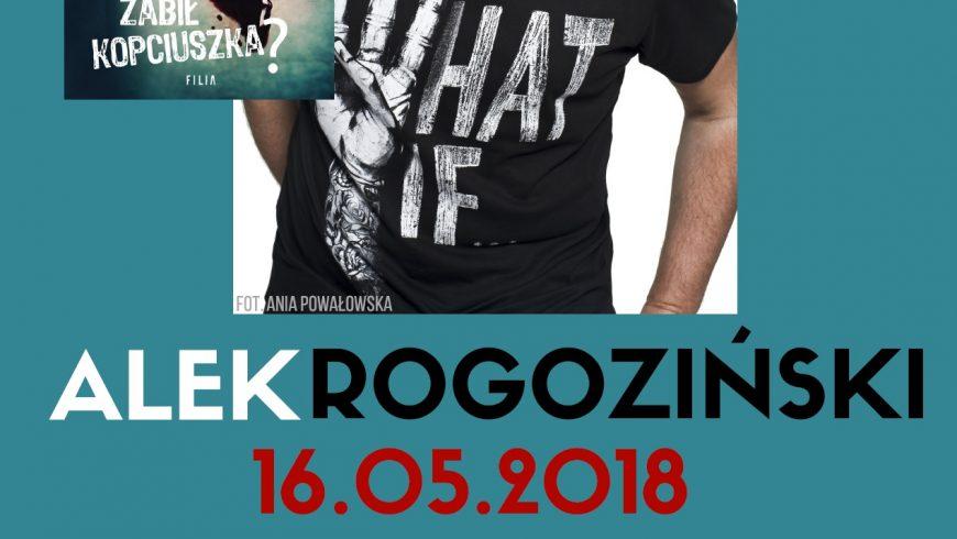 Spotkanie autorskie z Alkiem Rogozińskim