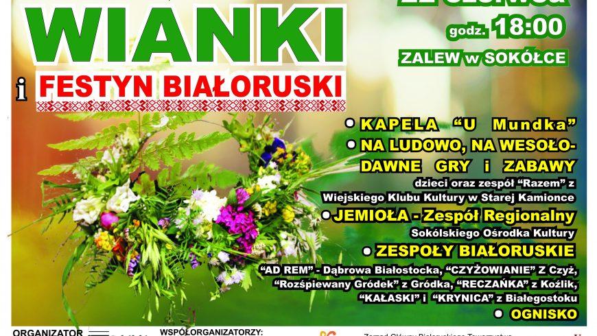 Wianki i Festyn Białoruski w Sokółce