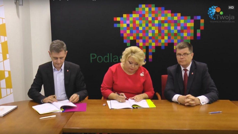 Zarząd Województwa Podlaskiego przyznał 54 miliony złotych dofinansowania z RPO na projekty rewitalizacyjne