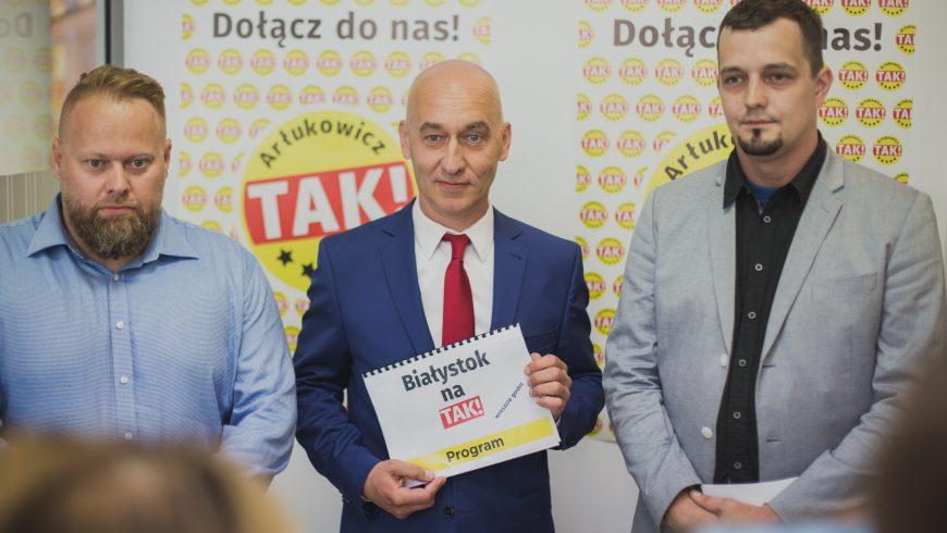 """""""Białystok na TAK: Miasto Pięciogwiazdkowe"""""""