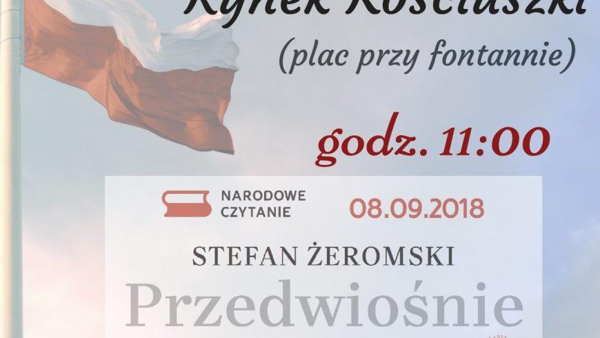Narodowe Czytanie w Białymstoku