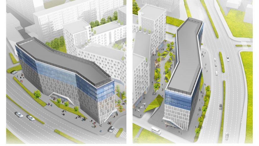 Nowoczesne biurowce w Białymstoku