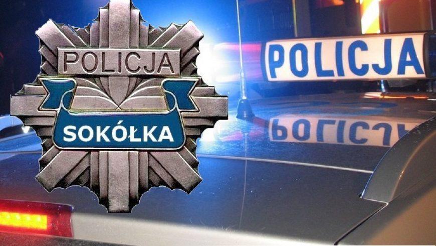 POLICJANCI ZATRZYMALI NIETRZEŹWEGO SPRAWCĘ KOLIZJI