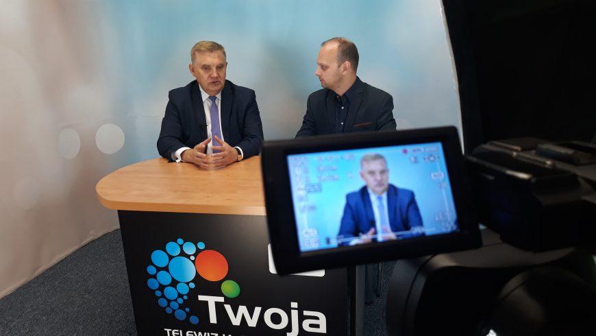 Prezydent Białegostoku w studiu powyborczym TTR