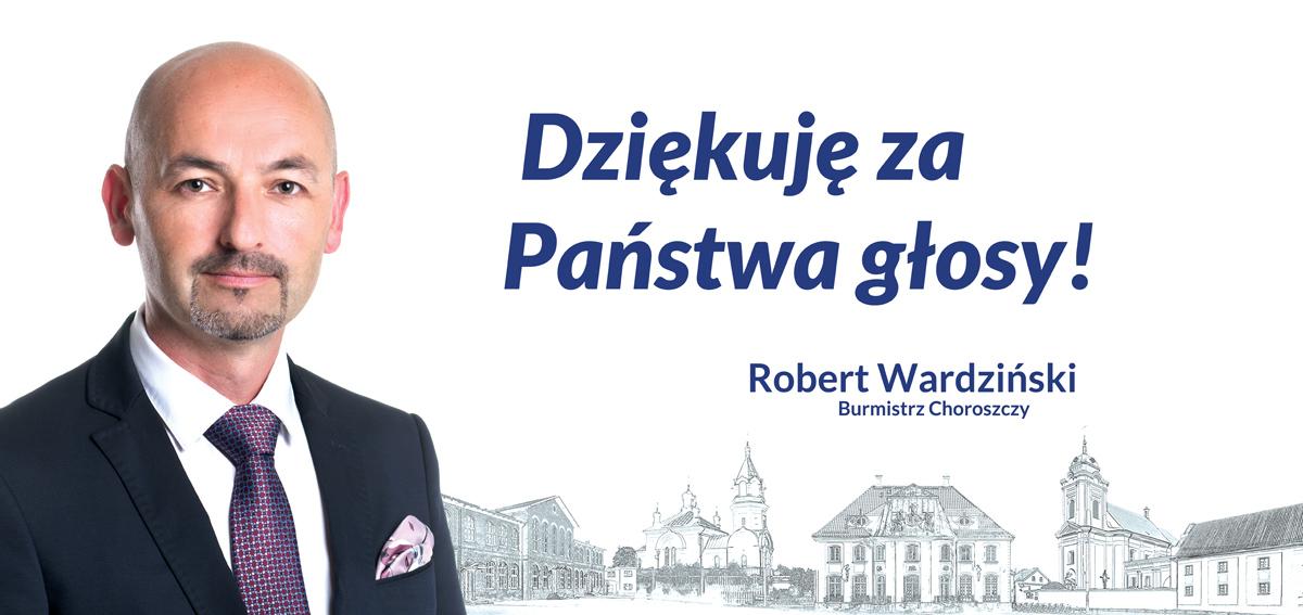 Burmistrz Choroszczy dziękuje mieszkańcom