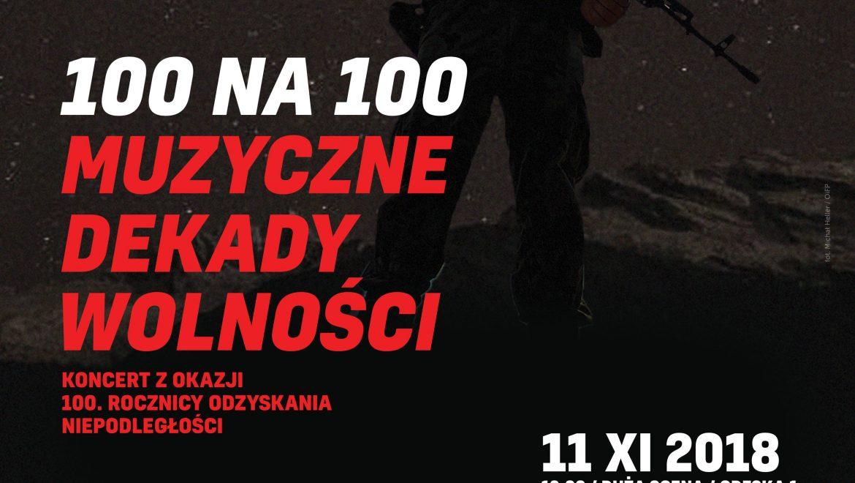 Koncert z okazji 100.rocznicy odzyskania Niepodległości w OiFP