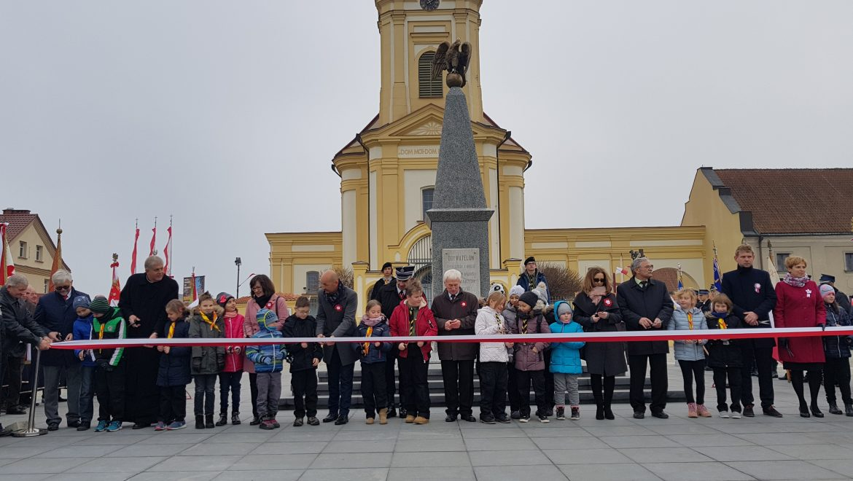 Rynek 11 Listopada w Choroszczy otwarty