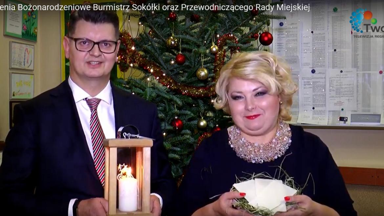 Życzenia świąteczne burmistrz Sokółki