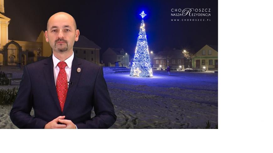 Burmistrz Choroszczy składa świąteczne życzenia