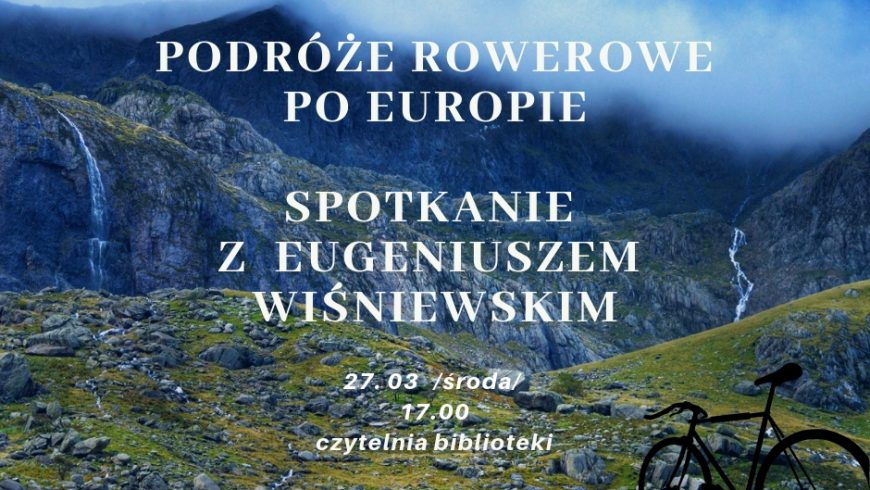 Zaproszenie na spotkanie z Eugeniuszem Wiśniewskim