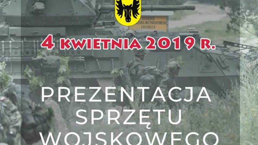 Pokaz sprzętu wojskowego z okazji 20 rocznicy wstąpienia Polski do NATO
