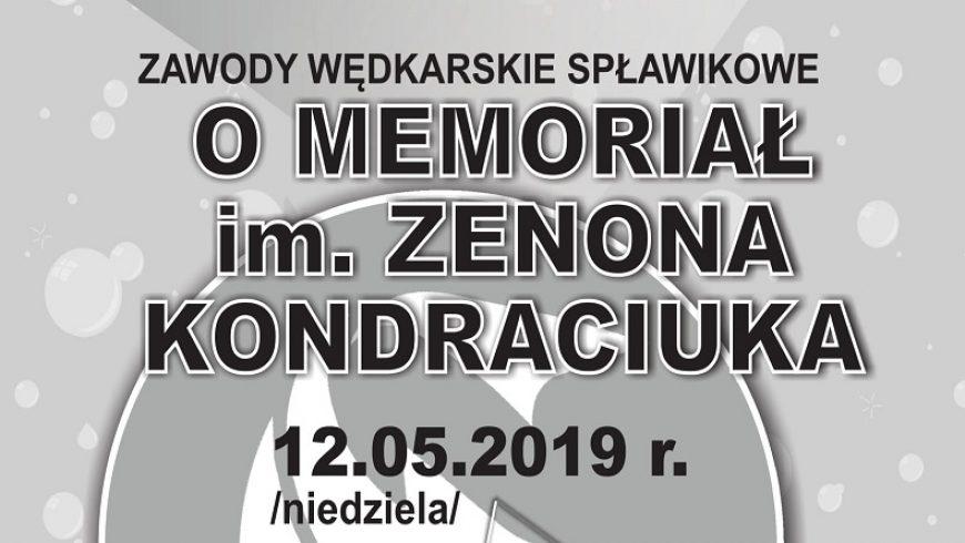 Wędkarski Memoriał im. Zenona Kondraciuka w Choroszczy