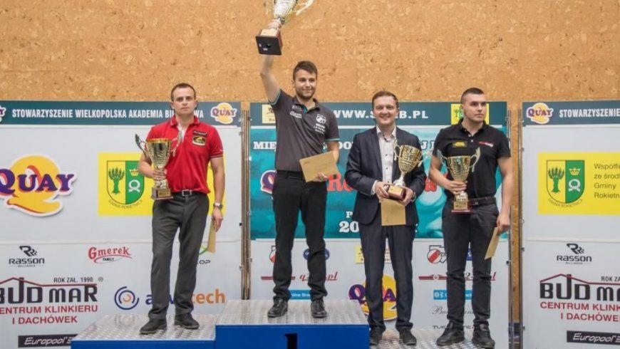 Dwa  zwycięstwa i  1 przegrana w Polskiej Ekstraklasie Bilardowej